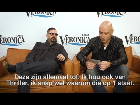 Chad Taylor and Ed Kowalczyk answer fan questions on Radio Veronica (March 2017)