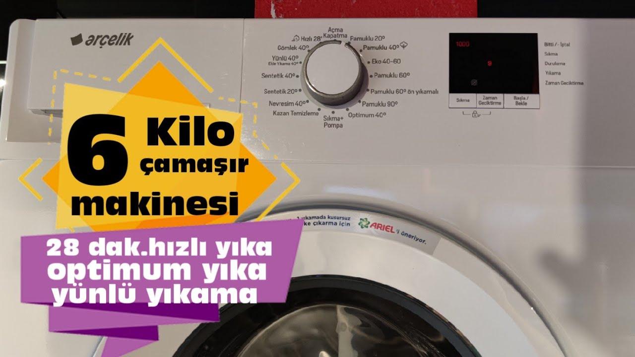 9124 D Arçelik Yeni Çamaşır Makinesi   Arçelik 9 Kilo Çamaşır Makinesi   9 Kilo 1200 Devir Makine