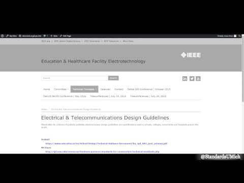 IEEE Education & Healthcare Facilities Committee Teleconference: July 14, 2015