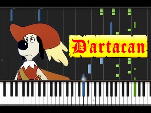 Dogtanian And The Three Muskehounds - Theme Song Piano Cover