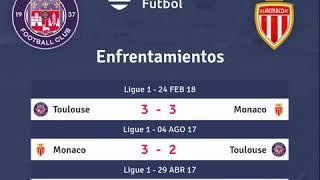 Previa Toulouse vs Monaco - Jornada 5 - Ligue 1 2018 - Pronósticos y horarios