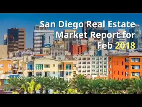 San Diego Real Estate Market Report Feb 2018