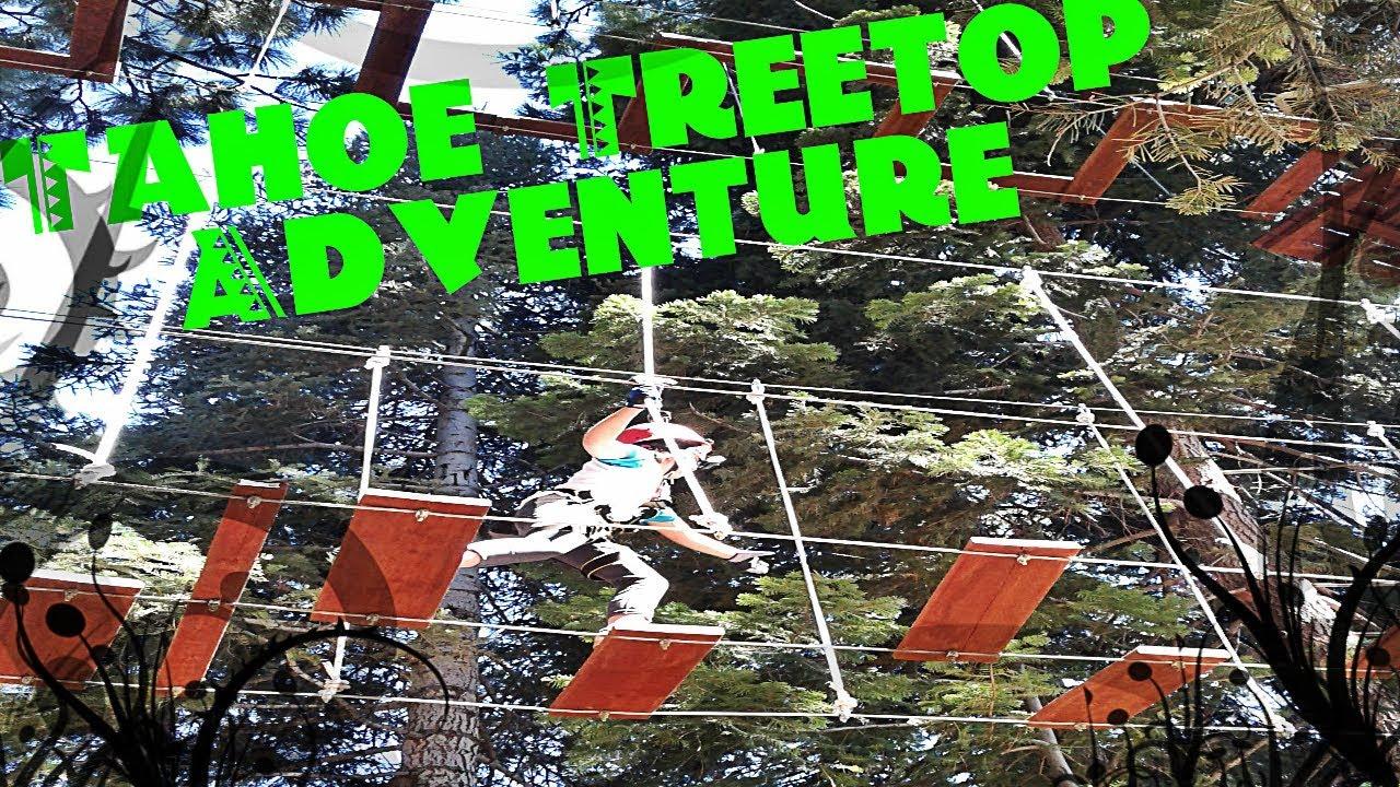 Tahoe Treetop Adventure Tahoe Vista