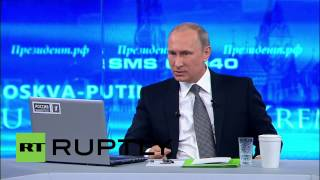 """Russia: """"We do not have imperial ambitions"""" - Putin"""
