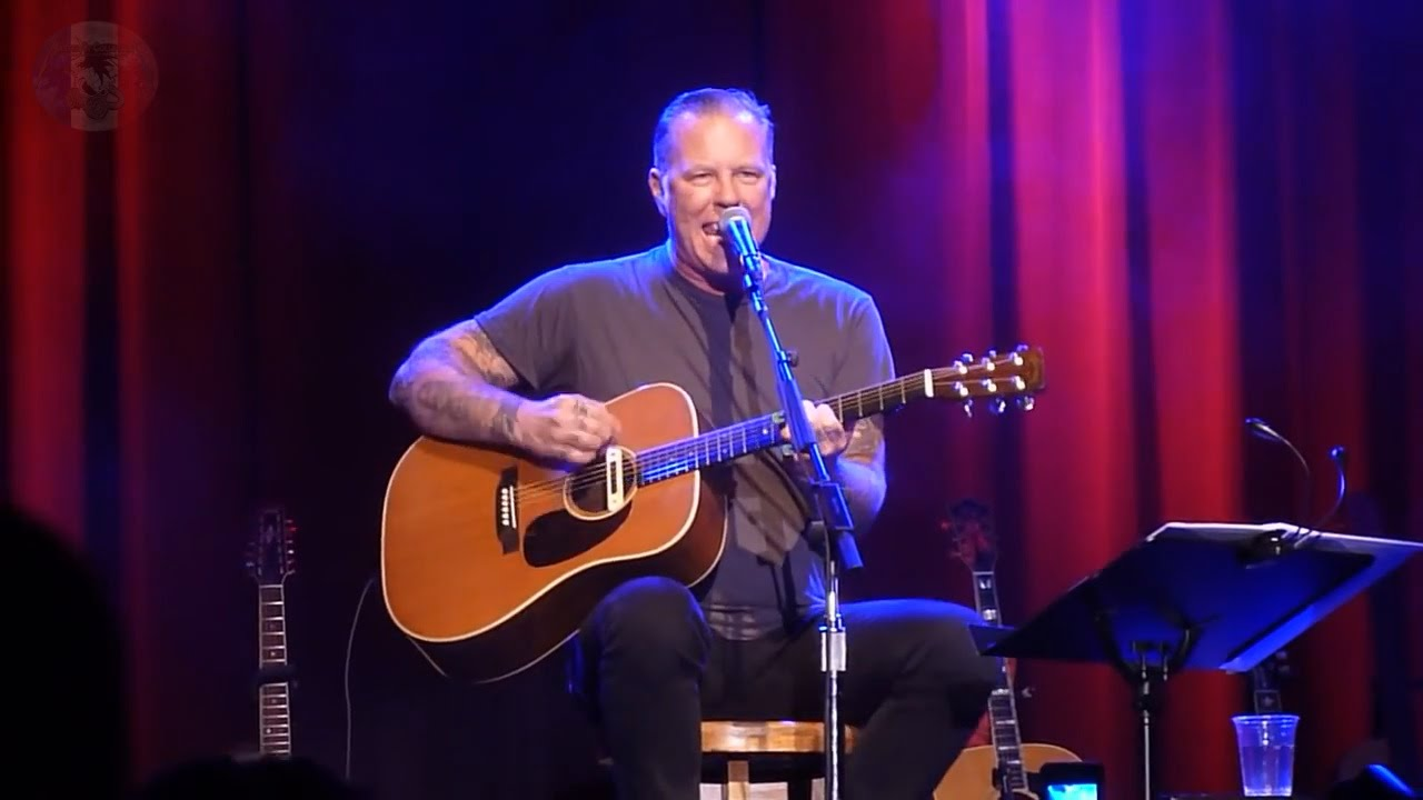 james hetfield full show at acoustic 4 a cure 15 may 2014 fillmore san francisco ca youtube. Black Bedroom Furniture Sets. Home Design Ideas