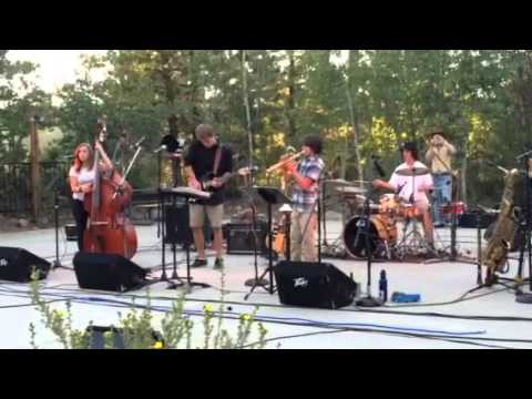 Jazz Cider (song 1) at Truckee's Summer Concert in the Park 2015