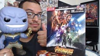 Avengers Infinity War 4K Target Exclusive Unboxing!!