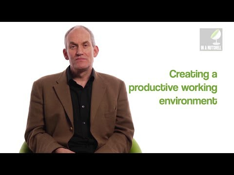 How to create a productive working environment - In a nutshell