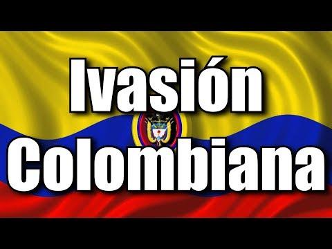 Los Países Invasores de Sudamerica