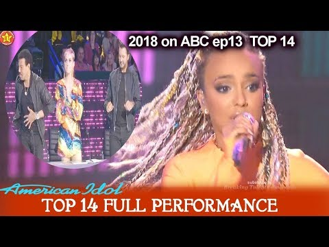 "Jurnee sings ""Bang Bang"" SHE BRINGS IT  and SHE CAN DANCE American Idol 2018 Top 14"