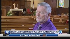 Openly gay Methodist minister talks about policy vote