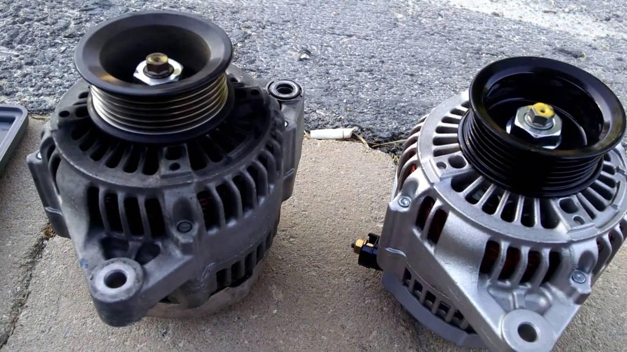 bad bearing on alternator