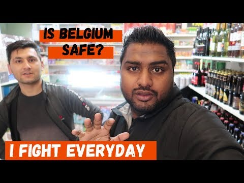 Experience The Real Belgium : Walking Through The Street of Brussels