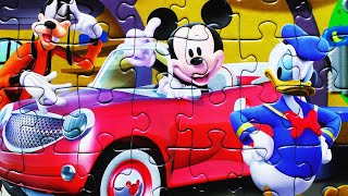 Mickey Mouse Clubhouse Disney Puzzles Games Rompecabezas Minnie Mouse Donald Duck Daisy Pluto Goofy