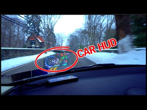 What is... a CAR HUD??