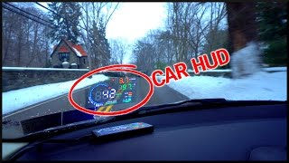 Futuristic Car Heads-Up Display!?