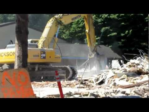 Wilkes Elementary School demolition
