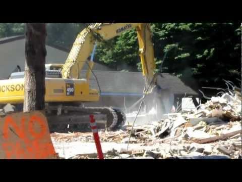 Wilkes Elementary School demolition