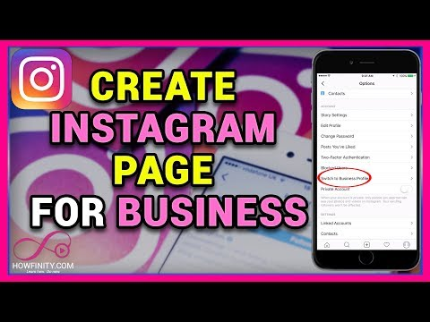 How to create Instagram page for business