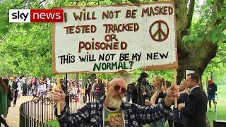 Coronavirus anti-vaxxers react to Boris Johnson's 'nuts' jibe