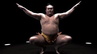 Hakuho : publicité pour Big Mac Géant + interview (McDonald