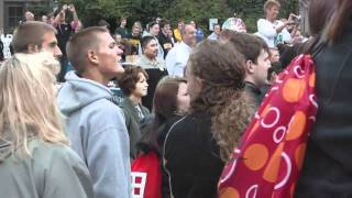 UW Oshkosh Flash Mob