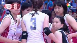 volleyball wgp 2015 THAI VS JAPAN