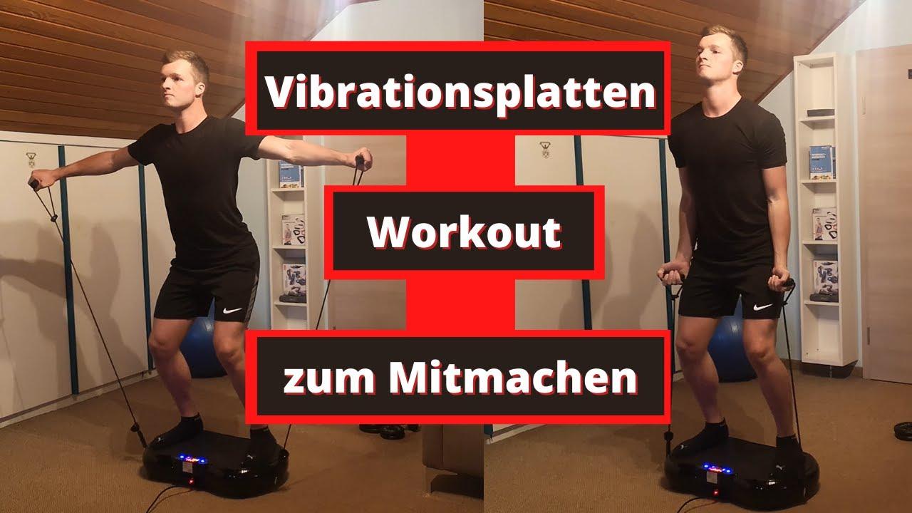 Bei vibrationsplatte training bandscheibenvorfall mit Vibrationstraining