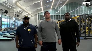BTN Bus Tour: Michigan Weight Room Tour | Big Ten Football