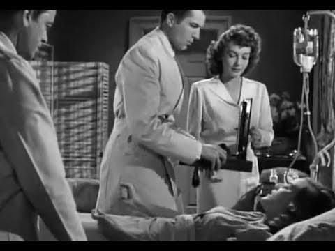 Noir Thriller Mystery Movie  Shock  Vincent Price