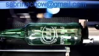 ZHUOKE RECI80W CO2 Laser  Engraving Machine for Glass Bottle ZK-6040