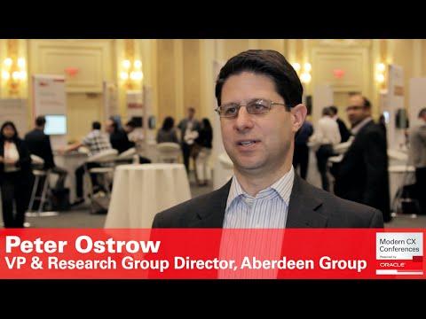 Peter Ostrow, VP & Research Group Director, Aberdeen Group (Modern Sales)