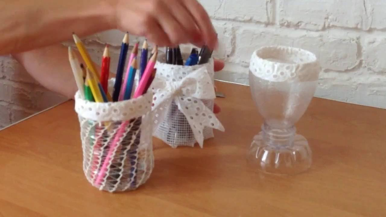Diy recycled plastic bottles cups 1 creative ideas for Creative ideas for recycling plastic bottles