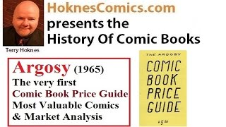 Comic Book History Argosy 1965 Price Guide 1st Action Comics Superman Batman Flash
