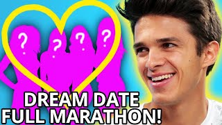 Brent Rivera Dates 7 GIRLS to find NEW GIRLFRIEND! Dream Date w/ Brent Rivera LIVE STREAM MARATHON