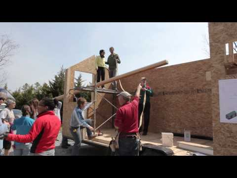 Tiny House Workshop - Build Tiny, Spring 2014