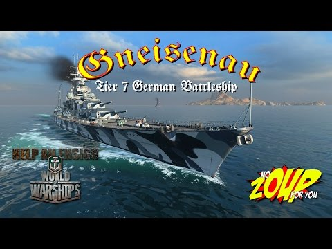 World of Warships Gneisenau Review
