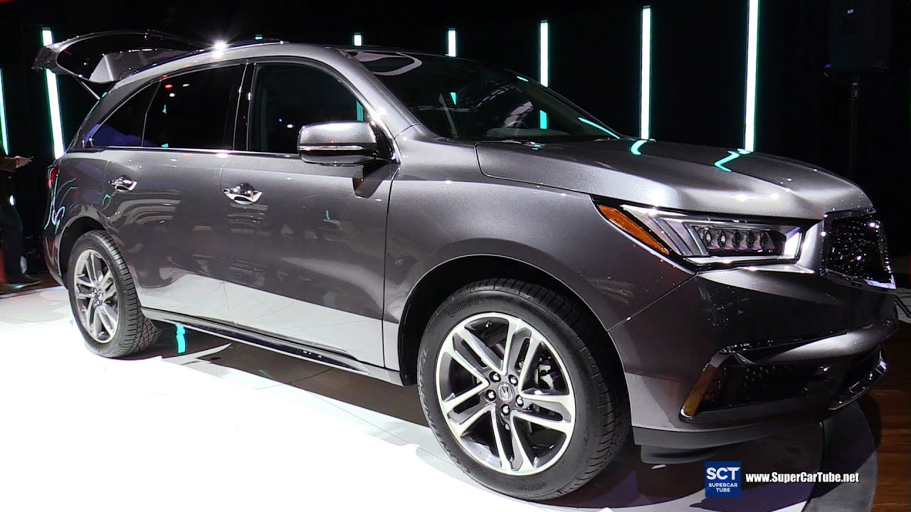 2017 Acura Mdx Exterior And Interior Walkaround Debut At 2016 New York Auto Show Youtube
