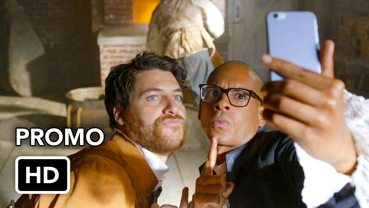 """Making History (FOX) """"Paul Revere"""" Promo HD - Time Travel comedy series"""