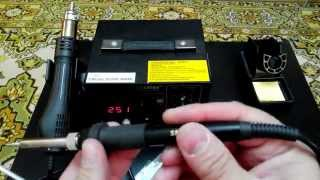 Обзор паяльной станции SAIKE 852D++  Распаковка посылки с жалами HAKKO(, 2015-06-18T05:05:45.000Z)