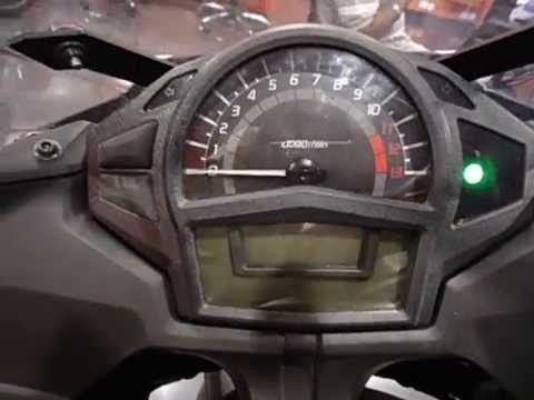 Kawasaki Ninja 650R Cockpit