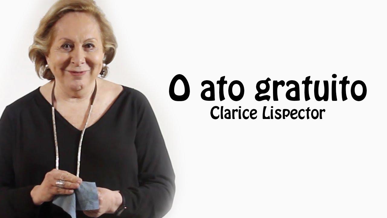Aracy Balabanian Delightful poema: o ato gratuito - clarice lispector por aracy balabanian