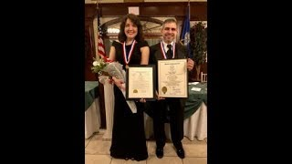 2017 UNICO Gold Medal acceptance speeches by Dr. Gino and Mrs. Sandra Brino
