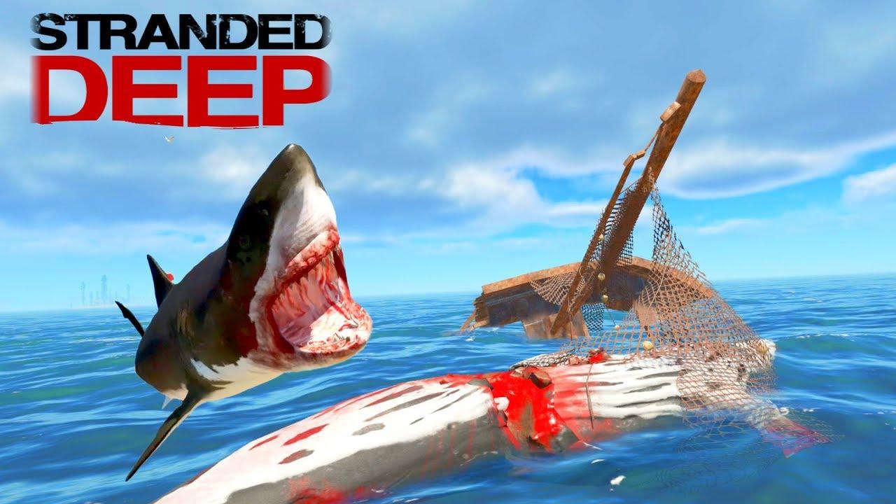 Image result for stranded deep megalodon
