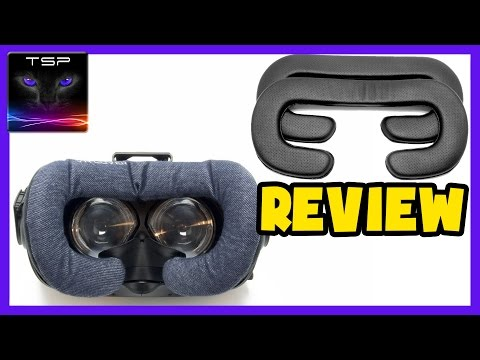 HTC Vive - 3 Different Foam Replacements (Leather / Cotton) REVIEW