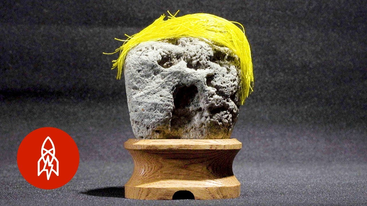 enter japan s bizarre museum of rocks with faces youtube