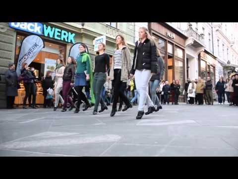 Irish Dancing Flashmob - Copova, Ljubljana
