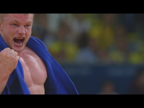 Dimitri Peters Wins Mens Judo -100kg Bronze - London 2012 Olympics