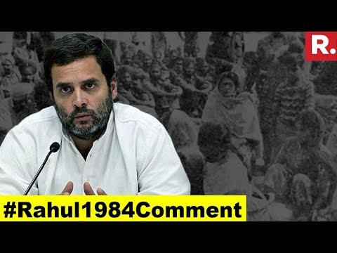 Has Rahul Gandhi Mocked 1984 Victims? | #Rahul1984Comment