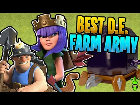 THIS IS THE BEST TH10 DARK ELIXIR FARM ARMY!! - Clash of Clans